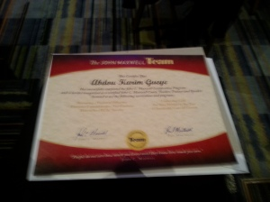 Certification Coach Teacher Speaker